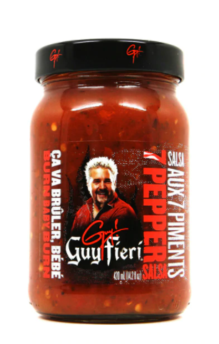 Guy Fieri Salsa -7 Pepper