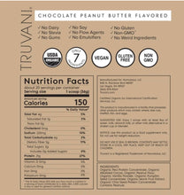 Load image into Gallery viewer, Truvani Plant Based Protein - Chocolate Peanutbutter