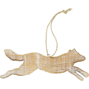 Wolf Woodland ornament