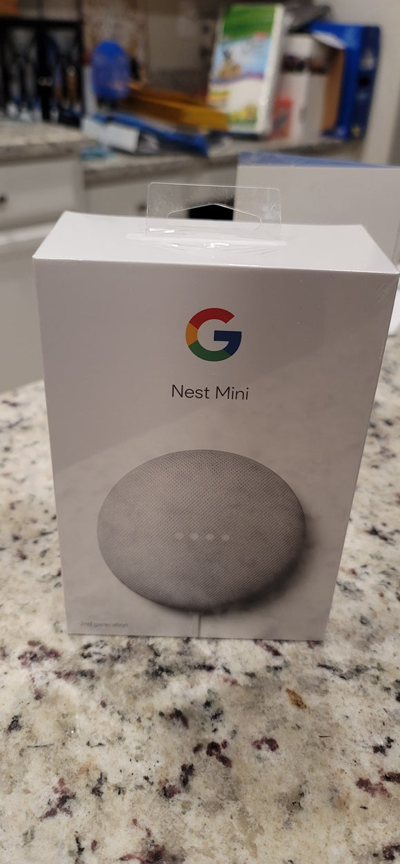 Google Nest Mini (2nd Generation) - Smart Speaker with Google Assistant