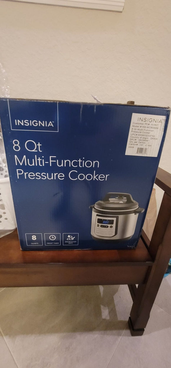 Digital Multi Cooker - Stainless Steel