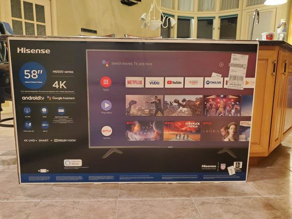 Hisense: 58 inch 4K - Android TV - Shop Market Deals