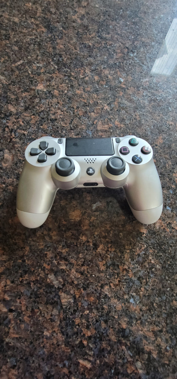 PlayStation 4 DualShock Wireless Controller (Silver) - Shop Market Deals