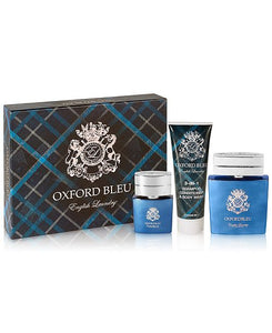 Men's 3-Pc. Oxford Bleu Gift Set - Shop Market Deals
