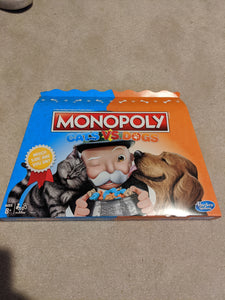 Monopoly Cats Vs. Dogs Board Game - Shop Market Deals