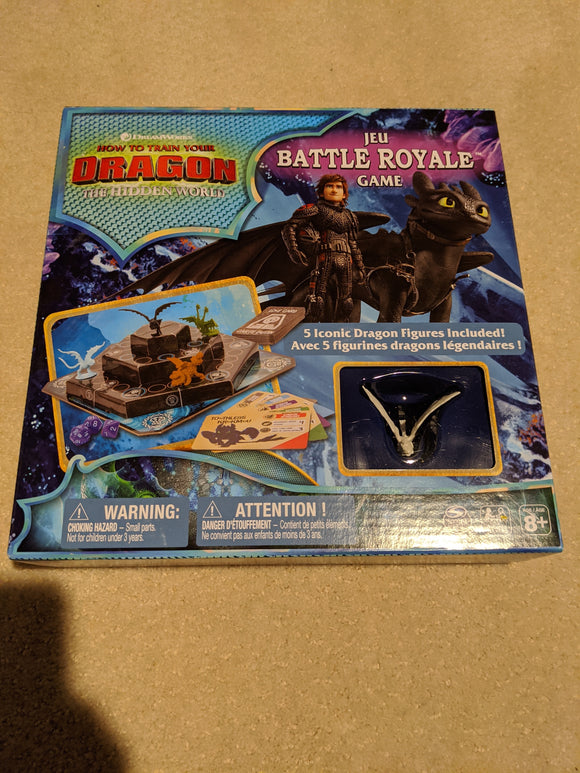 How to Train Your Dragon The Hidden World Battle Royale Board Game - Shop Market Deals