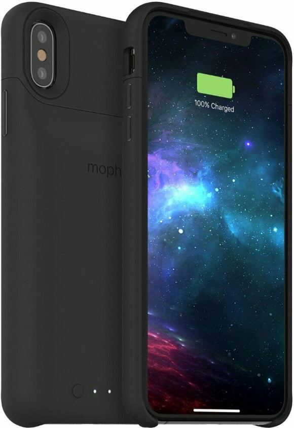 mophie: Juice Pack Battery Case with Wireless Charging Case - iPhone® XS Max - Shop Market Deals