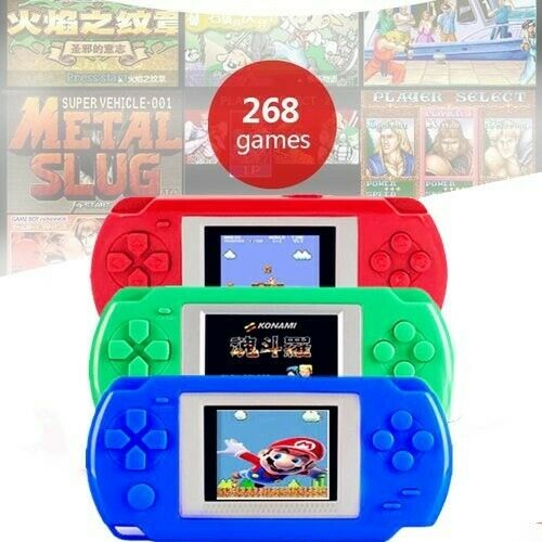 Portable 200+ Games Video Game Handheld Player - Shop Market Deals