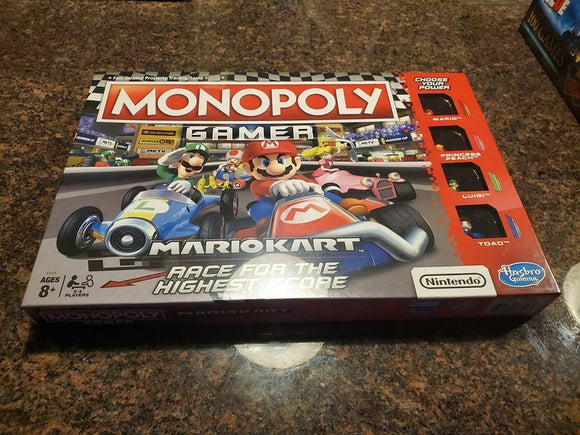 Monopoly - Mario Kart Edition - Shop Market Deals