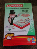 Hasbro Gaming: Monopoly Grab & Go - Portable Travel Board Game Family Fun - Shop Market Deals