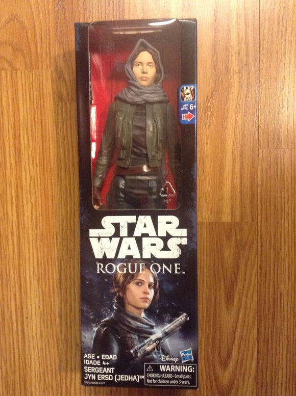 Star Wars Sergeant Jyn Erso Jedha Action Figure - Shop Market Deals