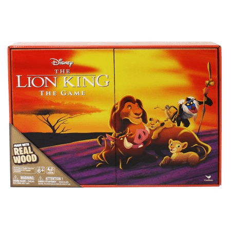 Disney's Lion King Board Game - Deluxe Wooden Edition - Shop Market Deals