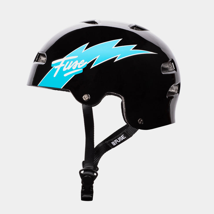 ALPHA Helmet Glossy Flash Black