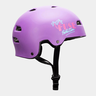 ALPHA Helmet Glossy Miami Purple
