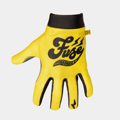OMEGA Glove - Cafe - Yellow