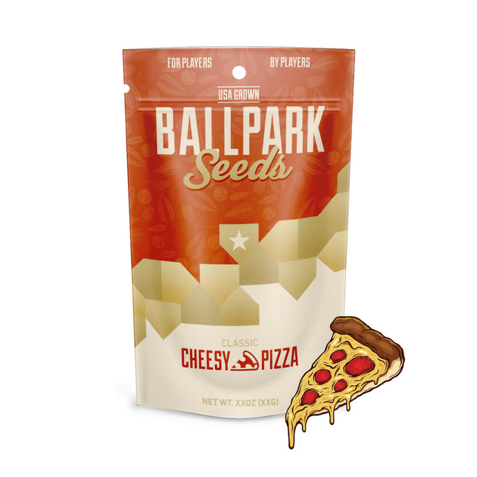 cheesy pizza ballpark sunflower seeds image 1