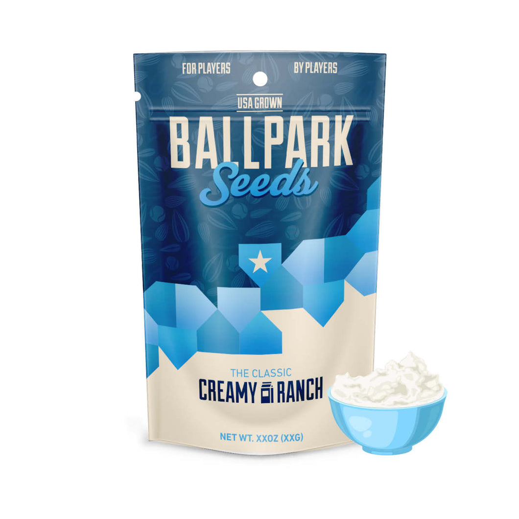 creamy ranch ballpark sunflower seeds image 1