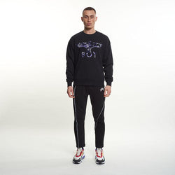 Boy Camo Flock Sweat