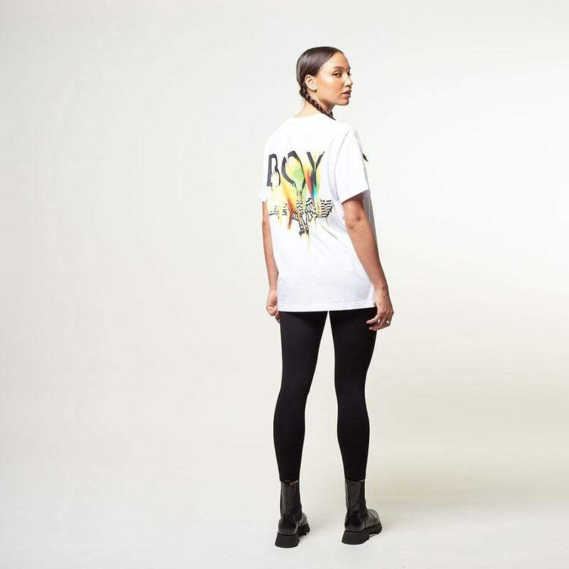 Boy Melt Tee - White