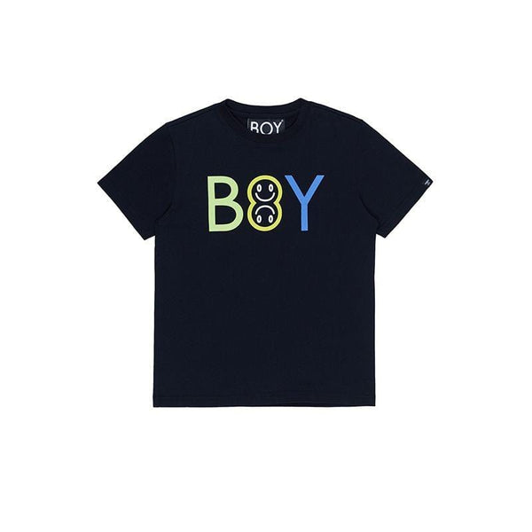 BOY London BOY EMOJI KIDS TEE BLACK/MULTI