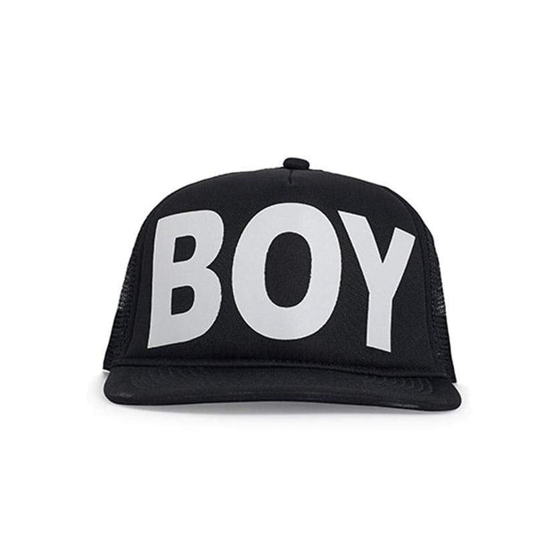 BOY LONDON CAP ONE SIZE BOY LONDON SNAPBACK - WHITE