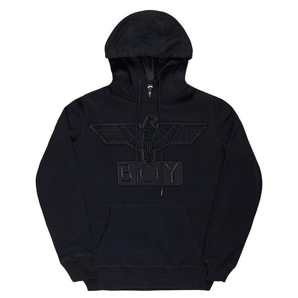 BOY LONDON HOODIES BOY EAGLE APPLIQUE HOODIE