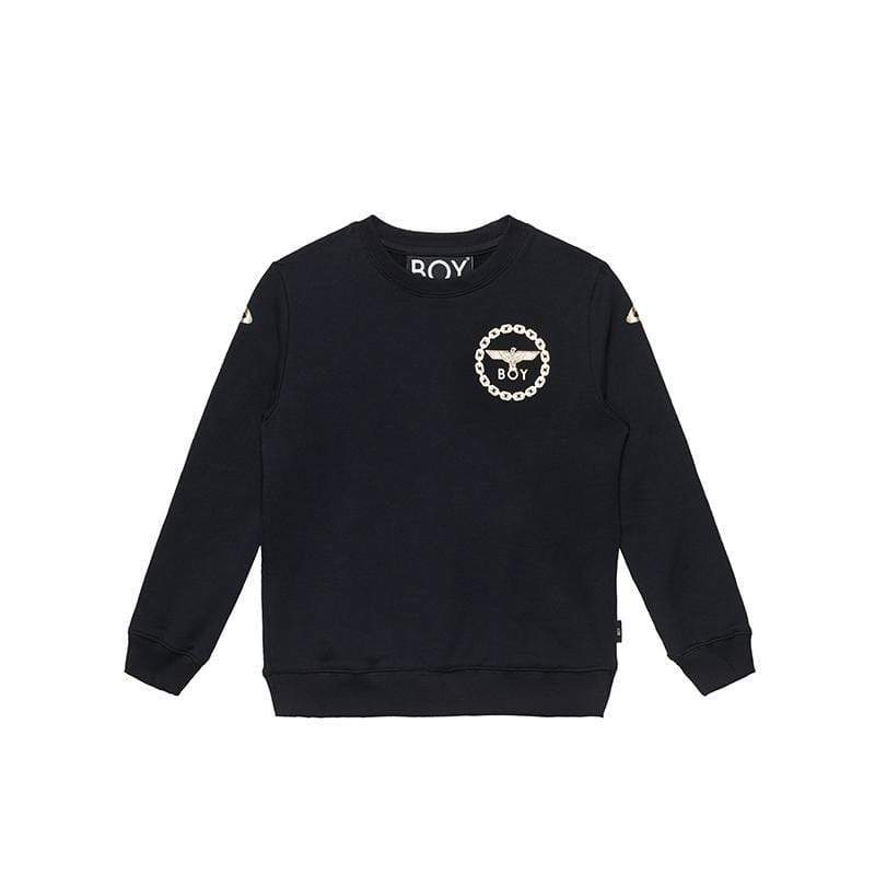 BOY LONDON KIDSWEAR BOY EAGLE BACKPRINT KIDS SWEATSHIRT