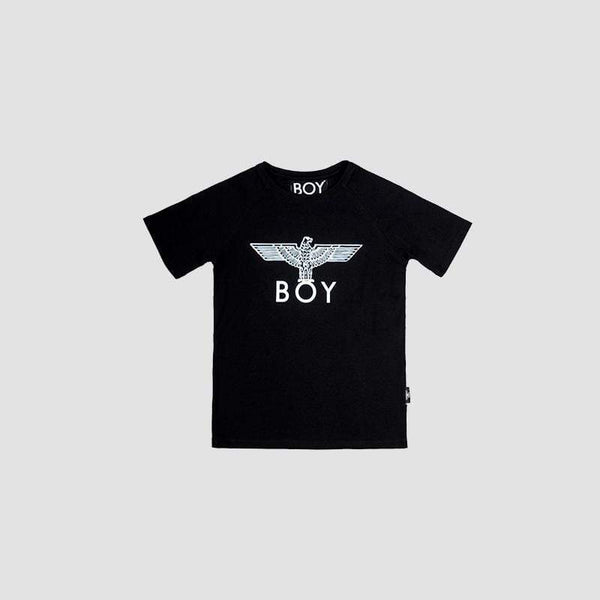 BOY LONDON KIDSWEAR 3-4 YEARS / BLACK/WHITE BOY EAGLE KIDS T-SHIRT