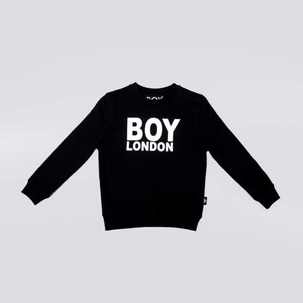 BOY LONDON KIDSWEAR 3-4 YEARS / BLACK BOY LONDON KIDS SWEATSHIRT
