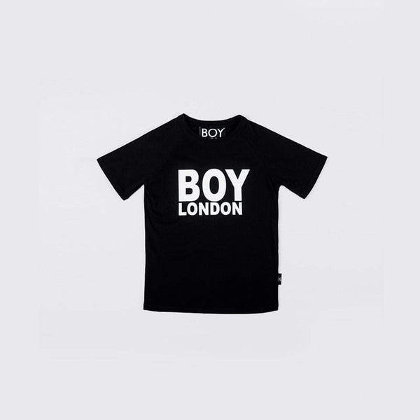 BOY LONDON KIDSWEAR 3-4 YEARS / BLACK/WHITE BOY LONDON KIDS T-SHIRT