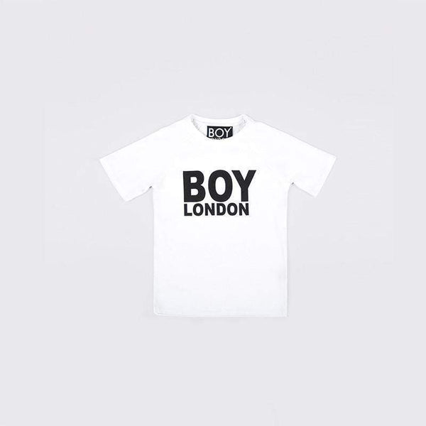 BOY LONDON KIDSWEAR 3-4 YEARS / WHITE/BLACK BOY LONDON KIDS T-SHIRT