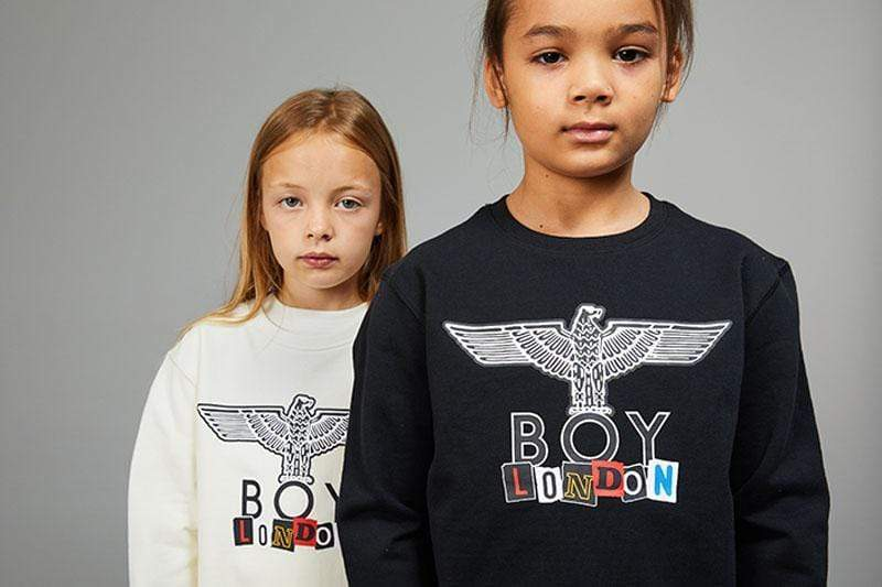 BOY LONDON KIDSWEAR BOY PLAY KIDS SWEATSHIRT