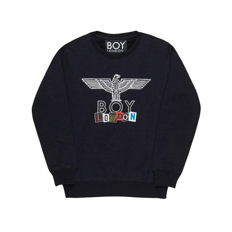 BOY LONDON KIDSWEAR 3-4 YEARS / BLACK BOY PLAY KIDS SWEATSHIRT