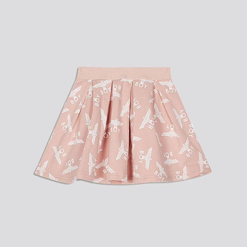 boy-london-shop KIDSWEAR 3-4 YEARS / PINK BOY KIDS REPEAT SKIRT