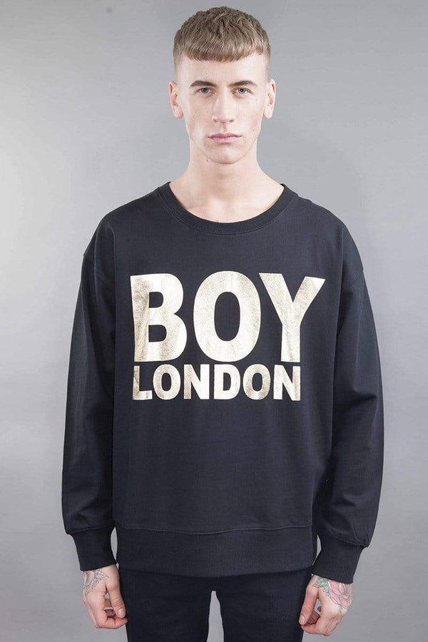 BOY LONDON SWEATSHIRT BOY LONDON SWEATSHIRT - BLACK