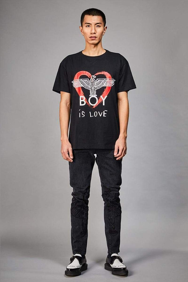 BOY LONDON T-SHIRT BOY IS LOVE T-SHIRT