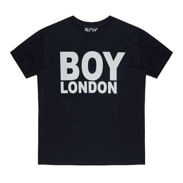 BOY LONDON T-SHIRT XS / BLACK/WHITE BOY LONDON T-SHIRT - BLACK