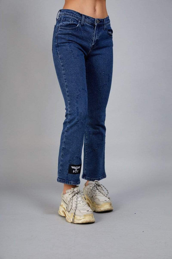BOY LONDON TROUSERS BOY IS HEART DENIM JEAN