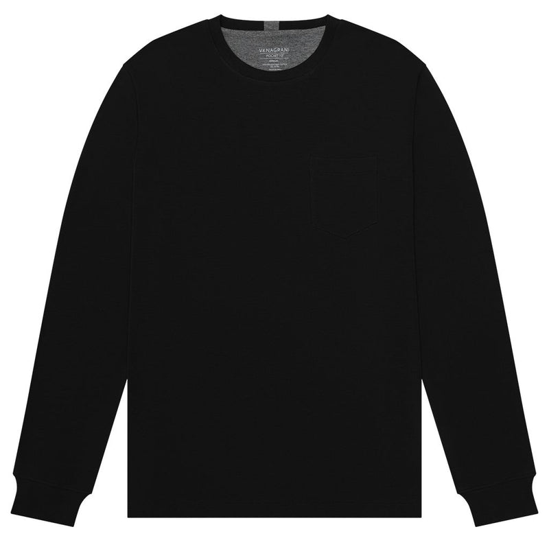THE POCKET TEE - LONG SLEEVE