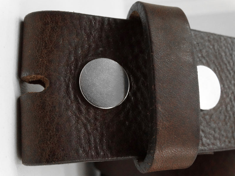 WESTERN LEATHER POLISHED BELT