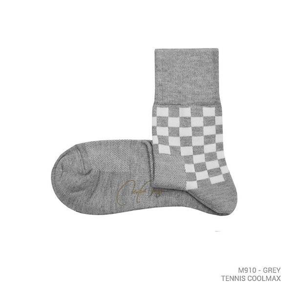 M910 - TENNIS COOLMAX QUARTER-CALF SOCK