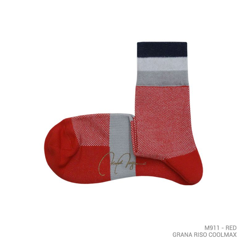 M911 - GRAN RISO COOLMAX QUARTER-CALF SOCK