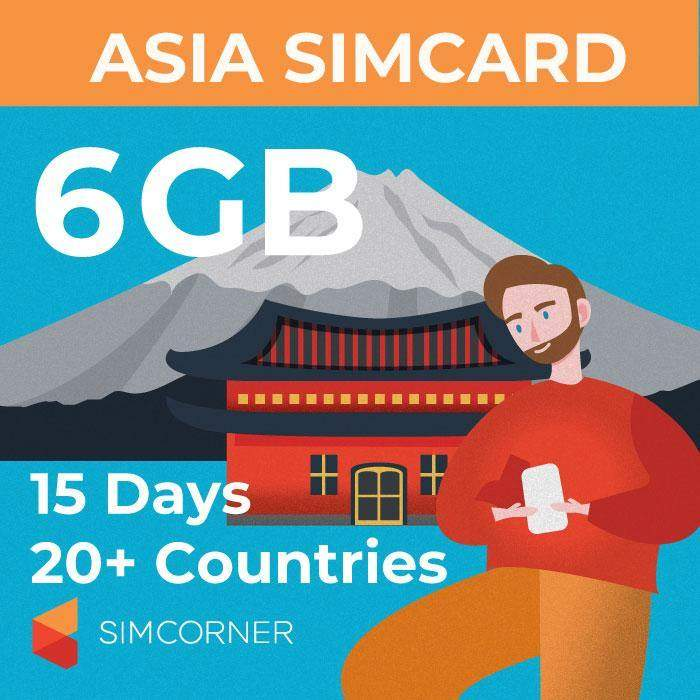 SimCorner-15day-asia-sim-card-6gb
