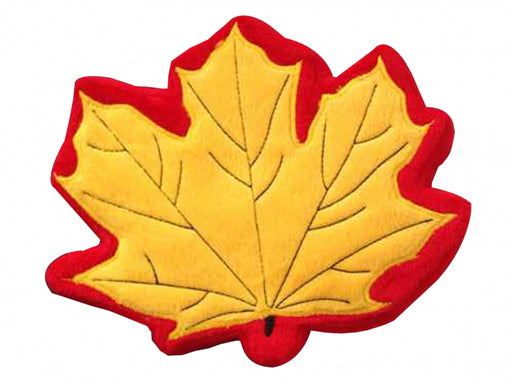 PrideBites Fall Leaf Durable Dog Toy