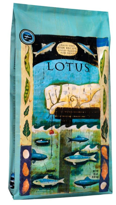Lotus Oven Baked Grain Free Fish Recipe Dry Dog Food