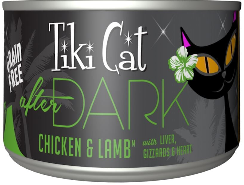 Tiki Cat After Dark Grain Free Chicken and Lamb Canned Cat Food