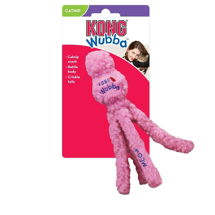 KONG Wubba Hugga Cat Toy
