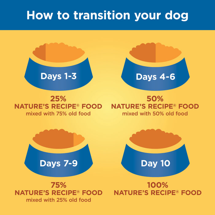 Nature's Recipe Grain Free Lamb, Sweet Potato & Pumpkin Dry Dog Food