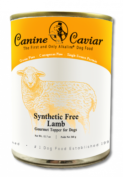 Canine Caviar Grain Free Synthetic Free Lamb Recipe Canned Dog Food