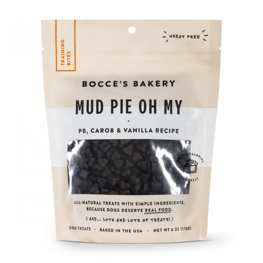 Bocce's Bakery Every Day Mud Pie Oh My Training Bites Dog Treats